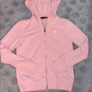Girls XL polo jacket